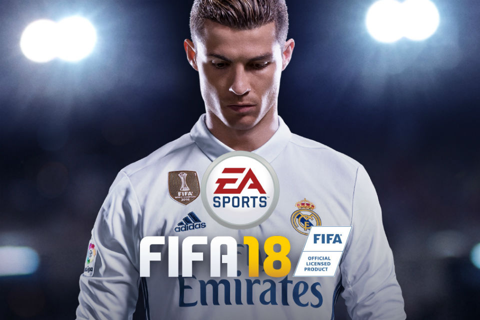 Cristiano Ronaldo ter[ilih sebagai model cover game FIFA 18